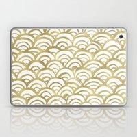 Gold Scallop Laptop & iPad Skin
