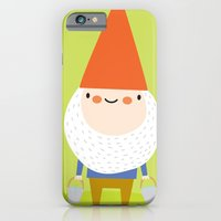 iPhone & iPod Case featuring mr. gnomey pants by Lori Joy Smith