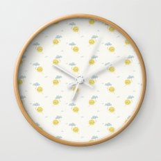 Little Sun white Wall Clock