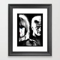 Blade Runner Nexus 6 Framed Art Print