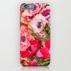 Anemones  and Bumblebee 5946 Slim Case iPhone 6s