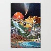 We Were All Born In Augu… Canvas Print