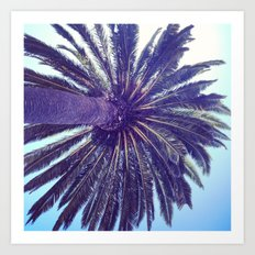 Palm. Art Print