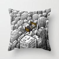 Lost At Sea (M83) Throw Pillow
