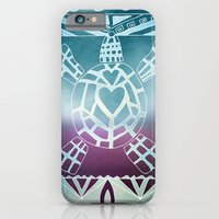 Tribal Sea Turtle iPhone 6 Slim Case