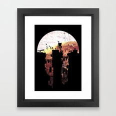 Kite Parkour Framed Art Print