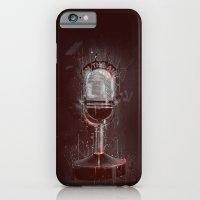 DARK MICROPHONE iPhone 6 Slim Case