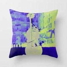 Musical Choice Throw Pillow