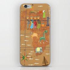Africa Map iPhone & iPod Skin