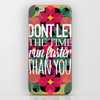 FLOWER TIME iPhone & iPod Skin
