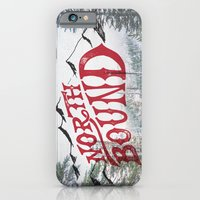 iPhone Cases featuring North Bound  by KPD:  Art Love Moto