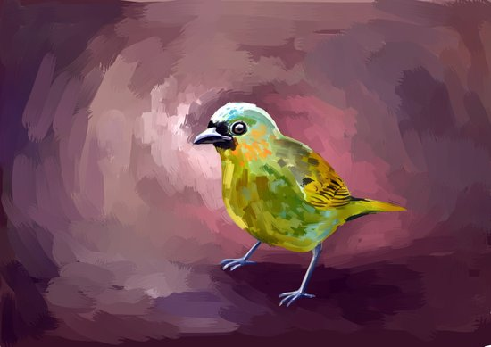 Tanager Art Print