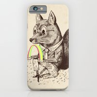 iPhone & iPod Case featuring Strange Fox by Alejandro Giraldo