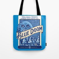 Blue Doom Tote Bag