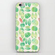 minimalist spring iPhone & iPod Skin