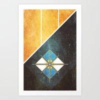 Vires Lux Art Print