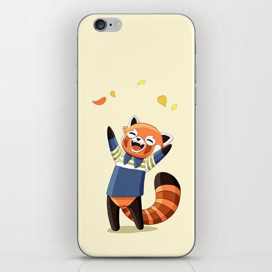 Red Panda 2 iPhone & iPod Skin