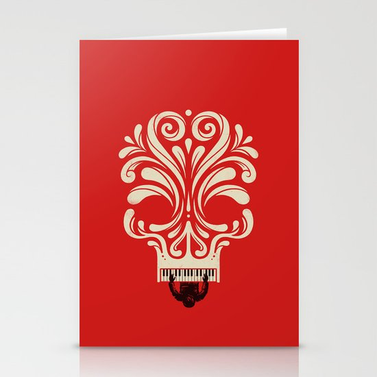 Killer Tune Stationery Card