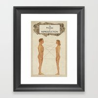 The Process Of Reproduct… Framed Art Print