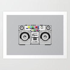 1 kHz #2 Art Print