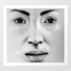 Untitled (Face Number 3) Art Print
