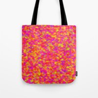 Yellow and Red Tote Bag