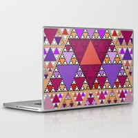 triangle Laptop & iPad Skins featuring Triangle by Anne Seltmann