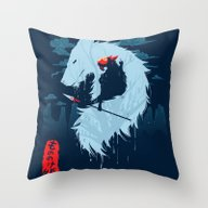 Hime Throw Pillow