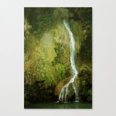 Li River Waterfall Canvas Print