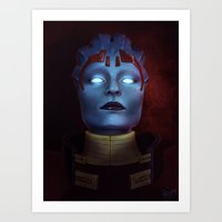 Mass Effect: Samara Art Print