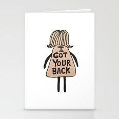 I Got Your Back #GirlSco… Stationery Cards
