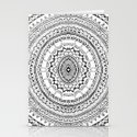 Round Patterns Stationery Cards