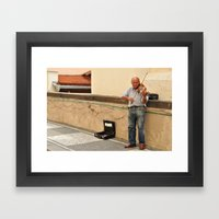 A Pure Passion in Praque Framed Art Print