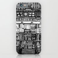 iPhone Cases featuring Lost cabin 666 by Marcelo Romero
