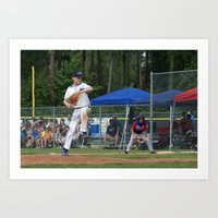 Little League 2012 State… Art Print