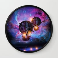 Space Trip. Wall Clock