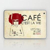 Café C'est La Vie - Par… Laptop & iPad Skin