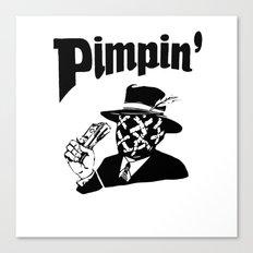 Big Pimpin' Canvas Print