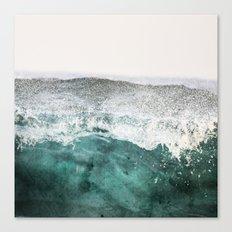 montagne liquide Canvas Print