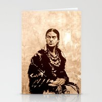 FRIDA - the mistress of ARTs Stationery Cards