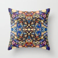 Blank Space And Disco Ba… Throw Pillow