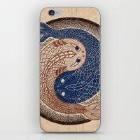 shuiwudáo yin yang mandala iPhone & iPod Skin