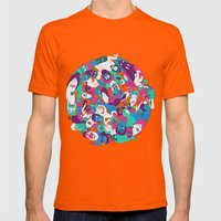 Goon Ball Mens Fitted Tee Orange SMALL