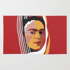 Abstract Frida Kahlo  Rug