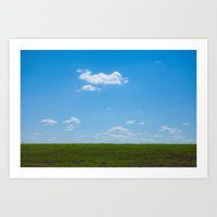 Country Fields - Country… Art Print