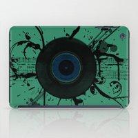 Vintage Vinyl iPad Case