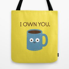 Coffee Talk Tote Bag