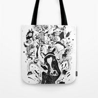 The Great Horse Race! B&… Tote Bag