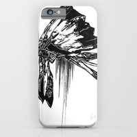 iPhone & iPod Case featuring Native Living by Evan Hawley