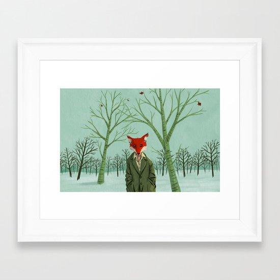 Ratty Fox Framed Art Print